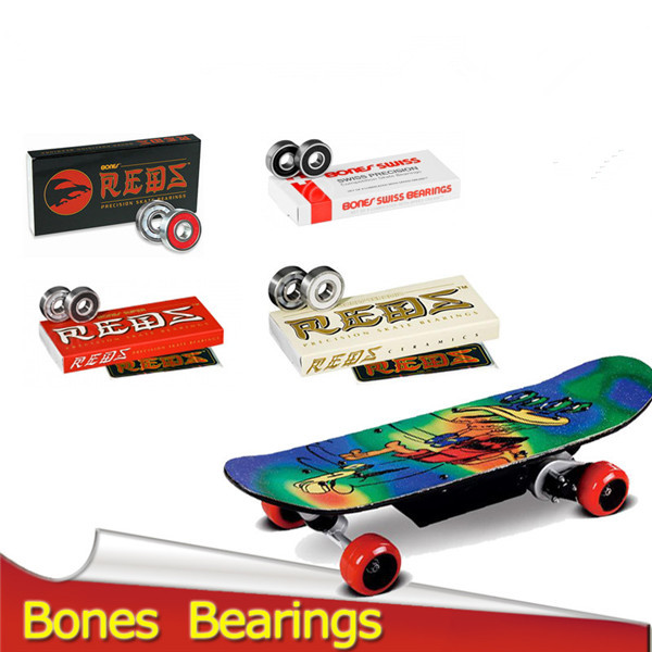polymer cage super red bones 608zBones Bearings Ho