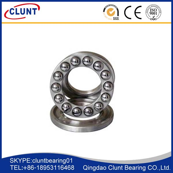 small coefficient friction thrust ball bearings