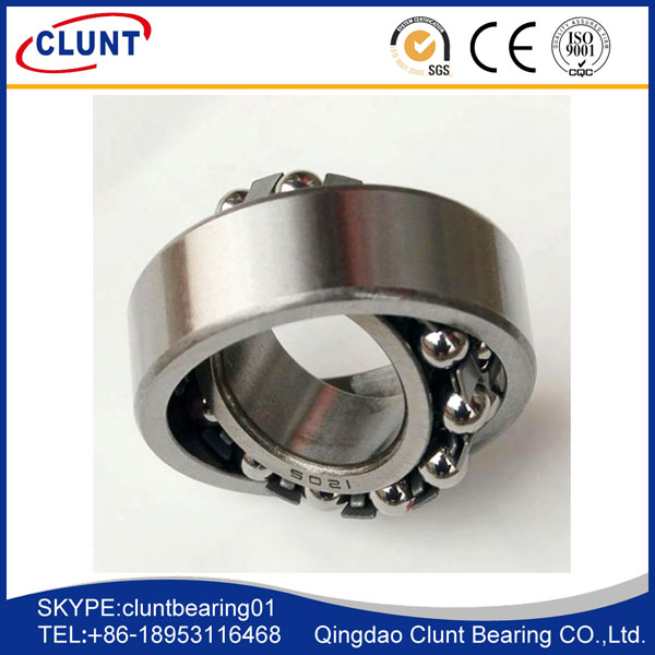 low noise self-aligning ball bearings